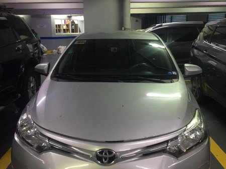 Silver Toyota Vios 2014 for sale in Manila