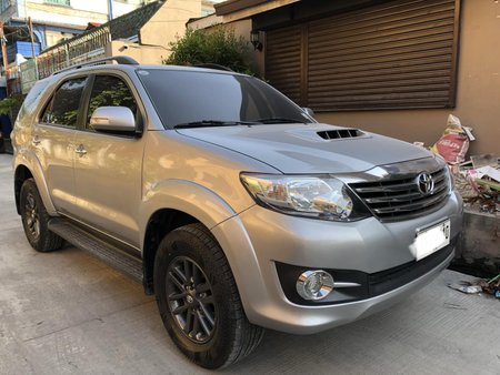 2015 Toyota Fortuner 2.4 G AT Black Series