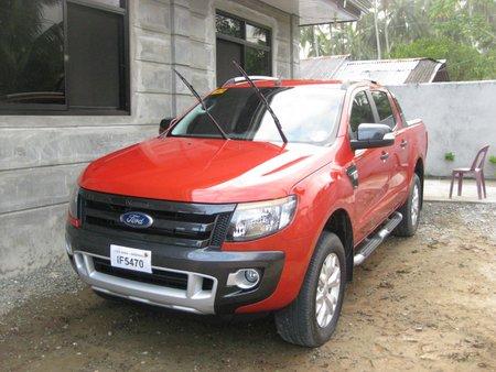 2013 Ford Ranger Wildtrak 2.2L MT