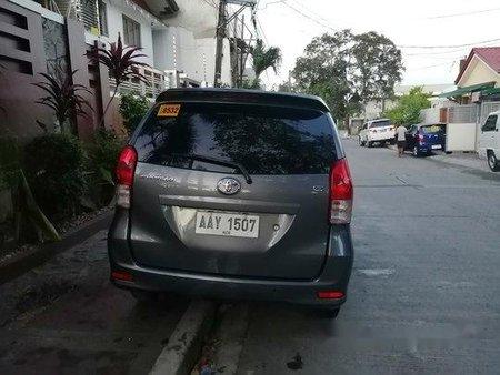 Grey Toyota Avanza 2014 for sale in Quezon City