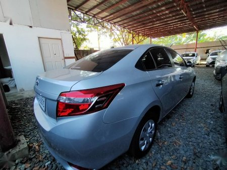 Silver Toyota Vios 2018 for sale in Quezon City