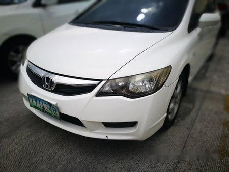 White Honda Civic 2011 for sale in Pasig