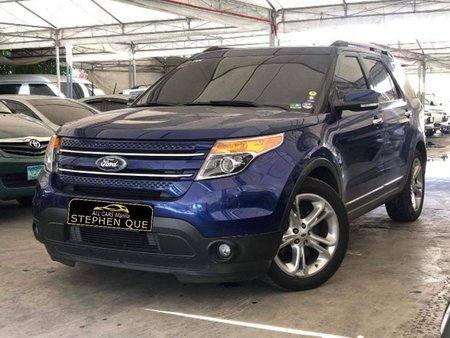 2015 Ford Explorer 2.0L 4x2 Ecoboost Gas AT