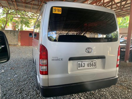 Silver Toyota Hiace 2019 for sale in Quezon City