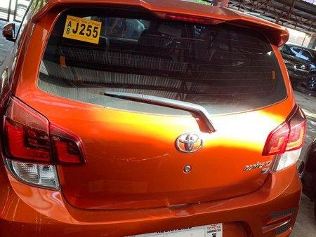 Selling Orange Toyota Wigo 2019 in Quezon City