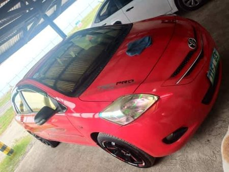 Red 2008 Toyota Vios for sale in Leyte