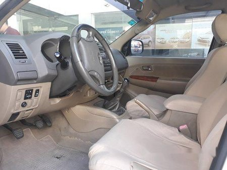 White Toyota Fortuner 2010 for sale in Manual