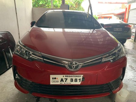 Sell 2018 Toyota Altis in Quezon City