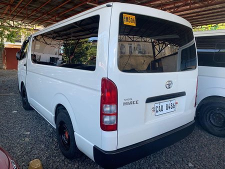 Selling Toyota Hiace 2019 in Quezon City