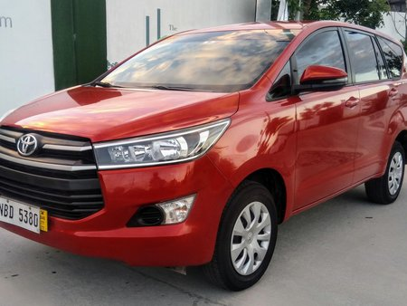 Toyota Innova 2018 Manual not 2017 2019