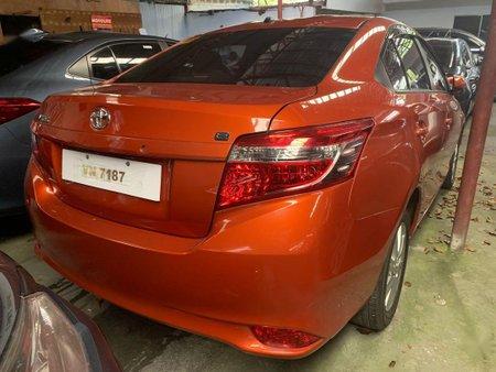 Sell Orange 2017 Toyota Vios in Quezon City