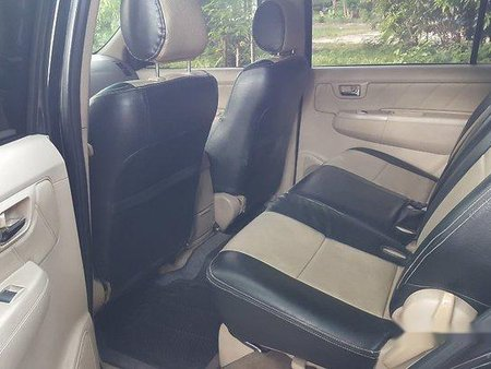Black Toyota Fortuner 2008 for sale in Cavite