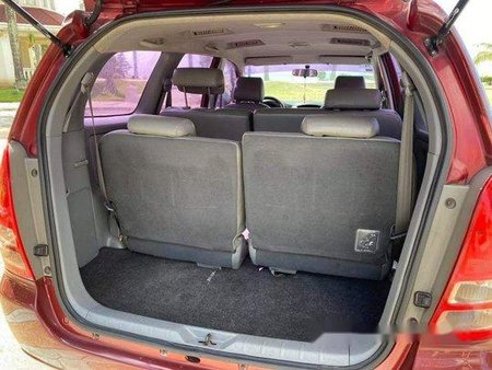 Red Toyota Innova 2007 for sale in Talisay