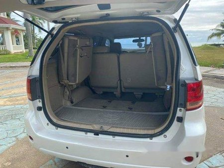 White Toyota Fortuner 2007 for sale in Talisay