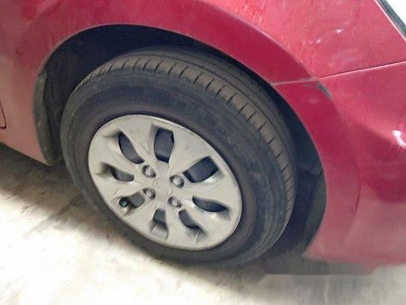 Red Hyundai Accent 2018 for sale in Quezon City