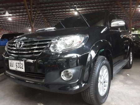 Sell Black 2015 Toyota Fortuner in Manila