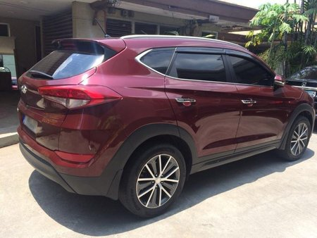 Red Hyundai Tucson 2007 for sale in Automatic