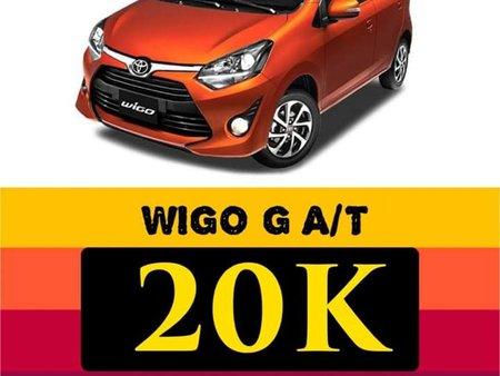 Toyota Wigo 2020 for sale in Taguig