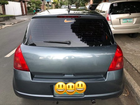 Grey Suzuki Swift 2005 at good price for sale in Quezon City