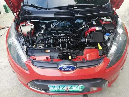 Sell Red 2011 Ford Fiesta in Manila