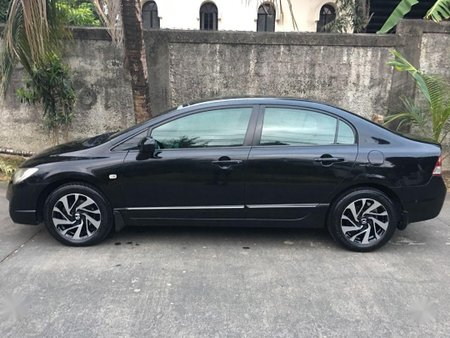 Sell Black 2007 Honda Civic in Manila