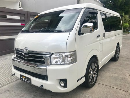 2016 Toyota Hiace Super Grandia 3.0L AT