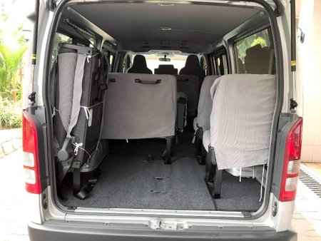 Sell Silver 2017 Toyota Hiace in Manila