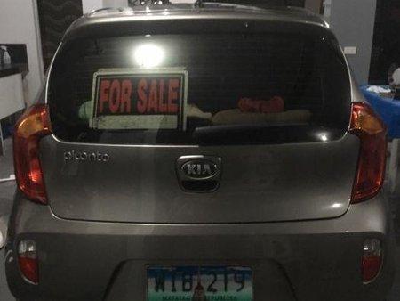 Sell Grey 2014 Kia Picanto in Manila