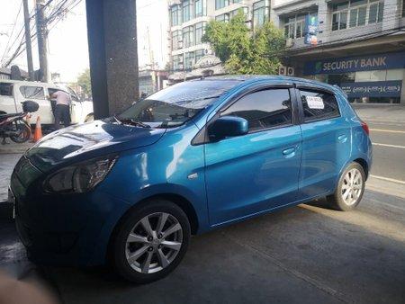 Blue Mitsubishi Mirage 0 for sale in Manila