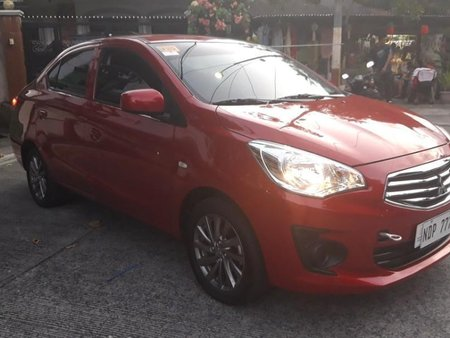 Selling Red Mitsubishi Mirage 2019 in Quezon City