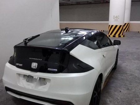 Selling White Honda Cr-Z 2014 in Manila