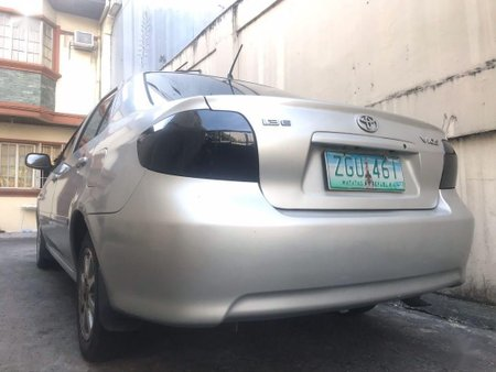 Silver Toyota Vios 2007 for sale in Pasay