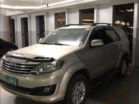 Beige Toyota Fortuner 2012 for sale in Manila