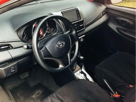 Red Toyota Yaris 2016 for sale in Manila