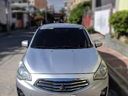 Selling Silver Mitsubishi Mirage g4 2014 in Quezon City