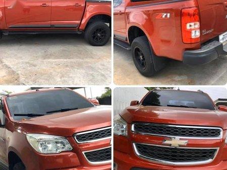 Sell Orange 2016 Chevrolet Colorado in Panay