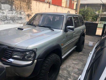 Grey Nissan Patrol 2002 for sale in Quezon