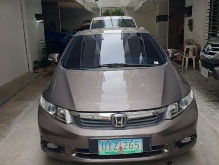 Grey Honda Civic 2012 for sale in Manila