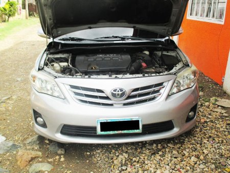 Blue Toyota Corolla altis 2014 for sale in Talisay