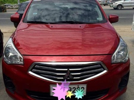 Red Mitsubishi Galant 2006 for sale in Manual