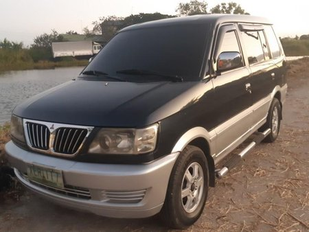 Selling Black Mitsubishi Adventure 2002 in Guagua