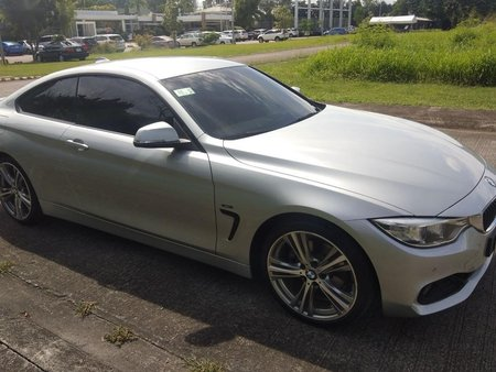 Silver Bmw 420D 2015 for sale in Manila