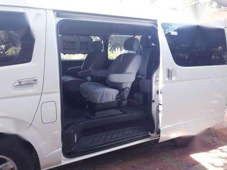 Pearl White Toyota Grandia 2013 for sale in Malabon