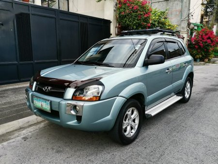 Blue Hyundai Tucson 2009 for sale in Automatic