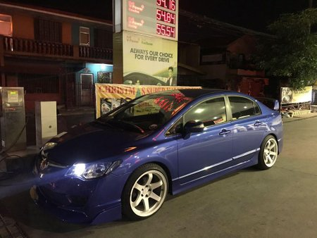 Bue Honda Civic 2006 for sale in Manila