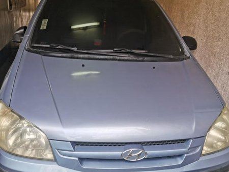 Blue Hyundai Getz 2008 for sale in Quezon City