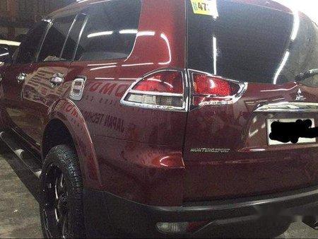 Sell Red 2014 Mitsubishi Montero Sport at 90000 km