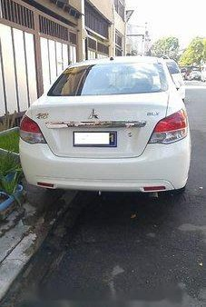 White Mitsubishi Mirage G4 2015 for sale in Quezon City