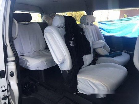 White Toyota Hiace 2015 for sale in Quezon City