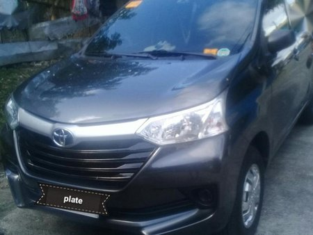 Black Toyota Avanza 2016 for sale in Manual